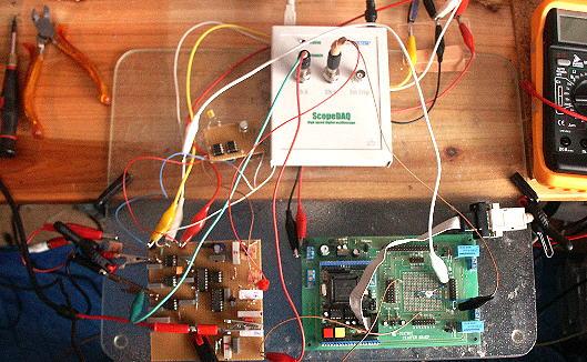 Kleines Gamma-Spektrometer basteln mit RAM63 und C-Control/Basic-System