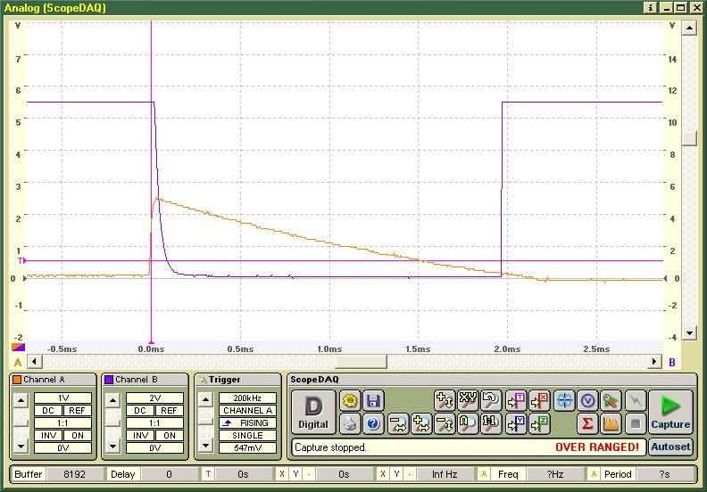 2. Spektrogramm zum Eigenbau MCA