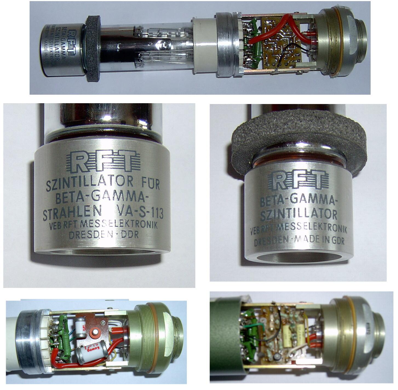 Gamma/Beta-Szintillatoren aus dem RAM63