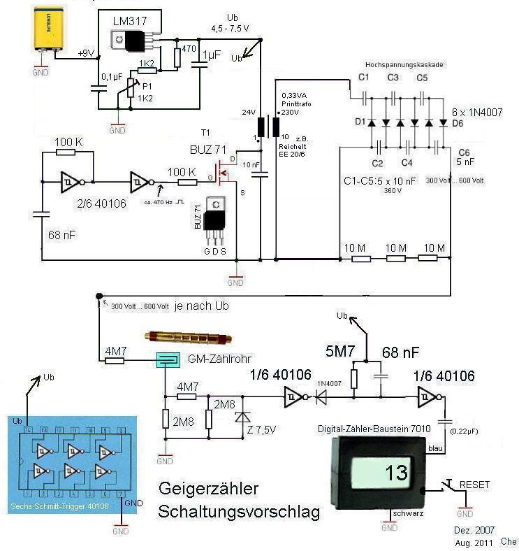 Geigerzähler basteln
