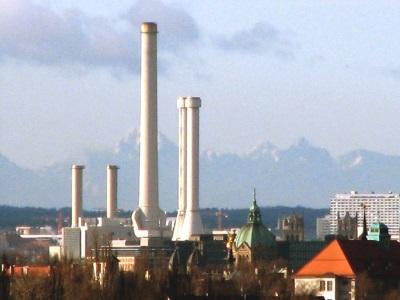Heizwerk München Perlach